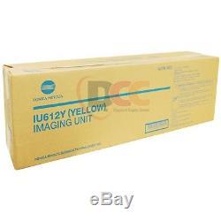 Oem Iu612y Yellow Imaging Unit Bizhub C652 C552 C452 A0tk08d Iu612