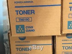 Oem Konica Minolta Bizhub Press C8000 Tn615 Toner Cymk