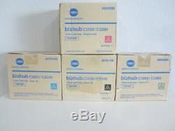 Original Konica Minolta TNP48 K, Y, M, C für bizhub C3850 / C3350 Neu & OVP