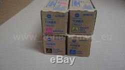 Original Konica Minolta Tonerset CMYK TN321 Bizhub 224 284 364 jetzt zugreifen