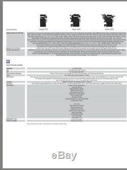 Professional Office Laser A3 Printer Copier Scanner Konica Minolta Biz hub C253