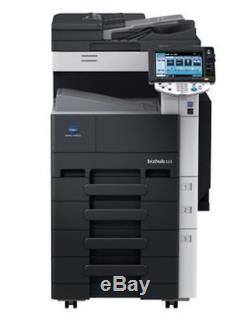 S/W Kopierer Konica Minolta Bizhub 223 130.877 Seiten LAN mit Toner, bis A3