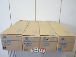 Satz Original Toner Konica Minolta TN-314 bizhub C353P NEU