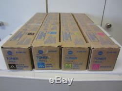 Satz Original Toner Konica Minolta TN-321 bizhub C224 / C284 / C364 NEU
