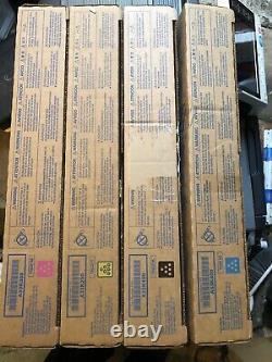 Set 4 X toner for Konica Minolta bizhub C224e/C284e/C364e TN321