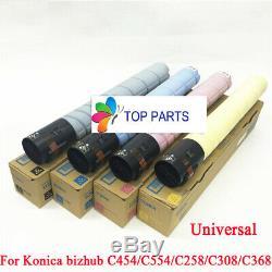 Set toner for Konica Minolta bizhub C454E/C554E/C258/C308/C368 TN512 TN324