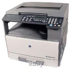 Stampante copiatrice KONICA MINOLTA BIZHUB 162mfp A3 toner70% 195000pagine usata