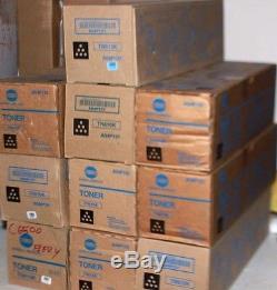 (10x) Cartouche De Toner Noir Authentique Konica Minolta A04p131 (tn610k) Bizhub Presse