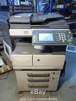 115591 Impression Konica Minolta Bizhub 250 Reseau Usb Imprimante Scanner Copieur