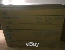 3x Véritable Konica Minolta Tn613y / M / C Toner Bizhub C452, C552, C652 Ttc