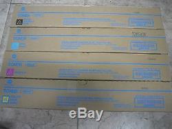 4 Authentique Konica Minolta Bizhub C458 C558 C658 Couleur Copieur Imprimante Tn514 Toner