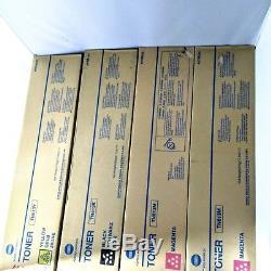 4 Cartouches De Toner Konica Minolta Bizhub C452, 2 Tn613m, Tn413k, Tn613y