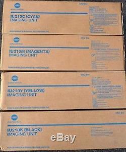 4 Tambours D'imagerie Koma Konica Bizhub C240 c250 C252 / Iu-210 D'origine