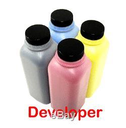 4 X Color Developer Refill Pour Konica Minolta Bizhub C250, C252 (tambour De Réparation)