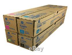 4 X Original Toner Konica Bizhub C250i C300i C360i / Tn328k Tn328c Tn328m Tn328y