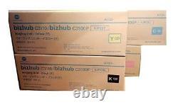 4 X Trommel Original Konica Bizhub C3100p C3110 / Iup23k Iup23c Iup23m Drum