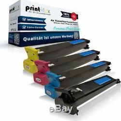 4x Cartouches Laser Pour Imprimante Konica Minolta Bizhub-c-250-p Série À Impression Quantique