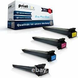 4x Drucker Tonerkartuschen Für Konica Minolta Tn213 XL Patronen-easy Print Serie