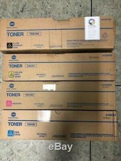 4x Konica Minolta Toner Tn616 Cmyk Für Bizhub Press C6000 C7000 P Neu