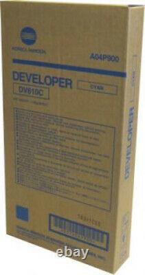 Compatible Avec Konica Minolta Minolta Dv-610c Développeur Cyan Pour Bizhub A04p900