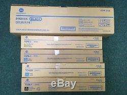 Copieur / Imprimante / Scanner Couleur Konica Bizhub C220 Y Compris Toner / Tambour Supplémentaire