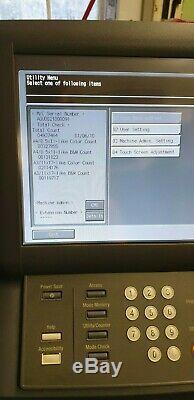 Imprimante / Copieur / Scanner Konica Minolta Bizhub Pro C6501 Avec Écran Tactile