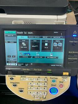 Imprimante De Bureau Konica Minolta Bizhub C452 Avec Cartouches Couleur De Remplacement