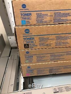Jeu De Toners Couleur Kymc Konica Bizhub Press Authentiques C6000, C7000, C7000p Tn616 Nouveau