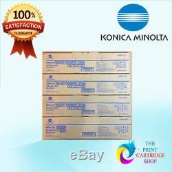 Kit De Batterie Konica Minolta A2xn0td Dr512 A2xn0rd Dr-512k Cmjn Bizhub C554 C224 C364