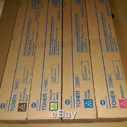 Kit De Toner Konica Minolta Cymk Tn324 Compatible Avec Bizhub C258, C308, C368