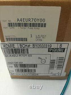 Konica A4eur70y00 Bizhub Pro 1050 Toner Pompe Assy 56ua-7801 A-ware
