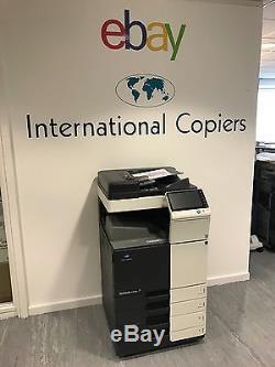 Konica Bizhub C224e Copieur Couleur Imprimante Scanner 24 Ppm Nombre De Copies Faible