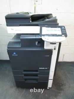 Konica Bizhub C280 Color Photocopieur / Copieur, Finisseur De Fax Et D'agrafes
