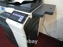 Konica Bizhub C308 Photocopieur Couleur Et Finition Agrafage