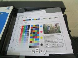 Konica Bizhub C454e Photocopieur Couleur / Copieur Et Finition Staple