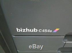 Konica Bizhub C454e Photocopieur Couleur / Copieur & Livret D'agrafage