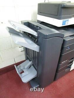 Konica Bizhub C458 Couleur Photocopieur/copier & Finisseur De Carnet