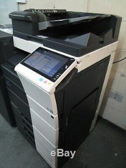 Konica Bizhub C458 Photocopieur Couleur / Copieur Et D'agrafage
