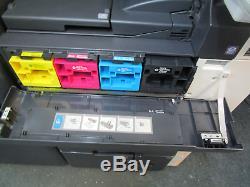 Konica Bizhub C552 Photocopieur / Copieur Couleur Et Agrafeuse