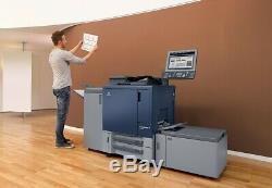Konica Bizhub Press C1060l Imprimante Couleur Copieur Scanner Seulement 1,1 MIL Mètre