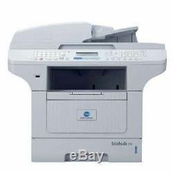 Konica Minolta Bizhub 20 A4 Laserdrucker S / W Unter 40,000 Seiten Toner Über 21%