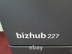 Konica Minolta Bizhub 227 Photocopieur/copier Noir Et Blanc