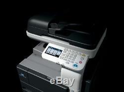 Konica Minolta Bizhub 36 Kopierer Drucker Fax Farbscanner Avec Toner