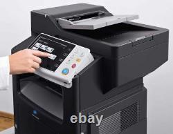 Konica Minolta Bizhub 4050 B&w 42ppm Imprimante, Copieur, Scan Couleur, Réseau, Fax