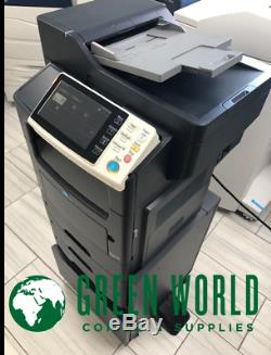 Konica Minolta Bizhub 4750 B & W Imprimante Multifonction 13k Mètres Au Total