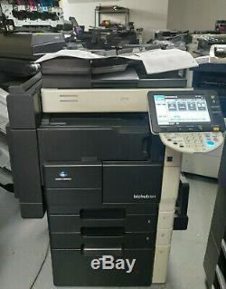Konica Minolta Bizhub 501 Kopierer Scanner Netzwerk Duplex S / W A3 Mit Finisher