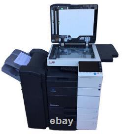 Konica Minolta Bizhub 554e Copieur Printer Scanner Government Surplus