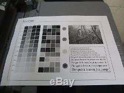 Konica Minolta Bizhub 754e Photocopieur Mono & Livret Selle