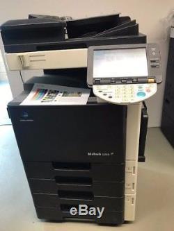 Konica Minolta Bizhub C203 Gebr A3 Numérique Farb Kopierer Drucker Scanner Fax