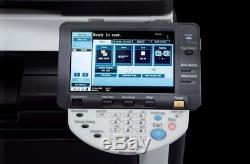 Konica Minolta Bizhub C220 Farbkopier Avec Faxoption Und Unterschrank # 310013